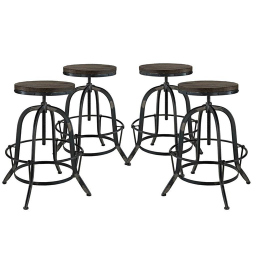Modway Furniture Collect Bar Stool Set of 4