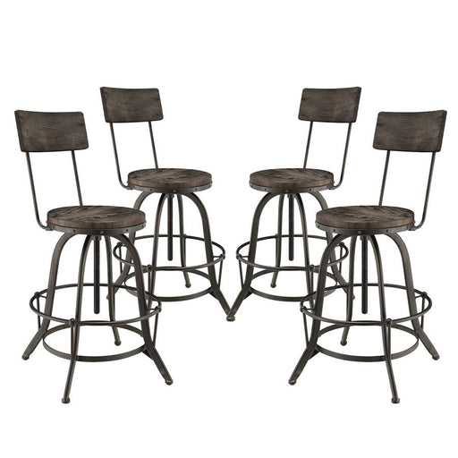 Modway Furniture Procure Bar Stool Set of 4