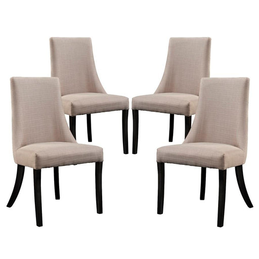 Modway Furniture Reverie Dining Side Chair Set of 4