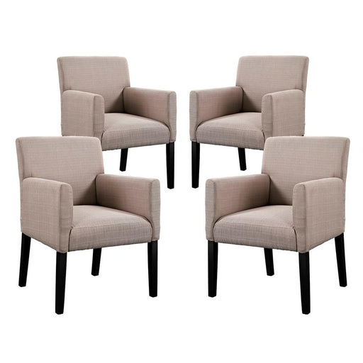 Modway Furniture Chloe Armchair Set of 4