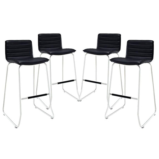 Modway Furniture Dive Bar Stool Set of 4