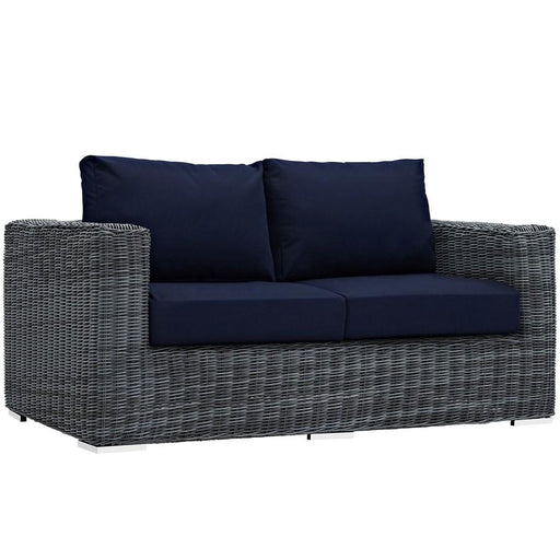 Modway Summon Outdoor Patio Sunbrella Loveseat