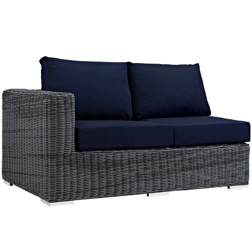 Modway Summon Outdoor Sunbrella Left Arm Loveseat