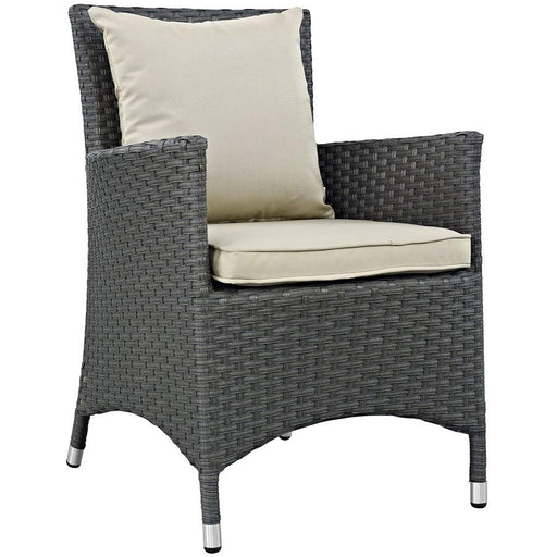 Modway Sojourn Dining Outdoor Sunbrella Armchair