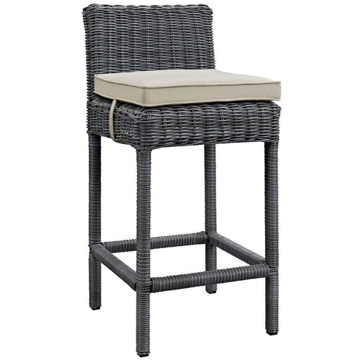 Modway Summon Outdoor Sunbrella Bar Stool