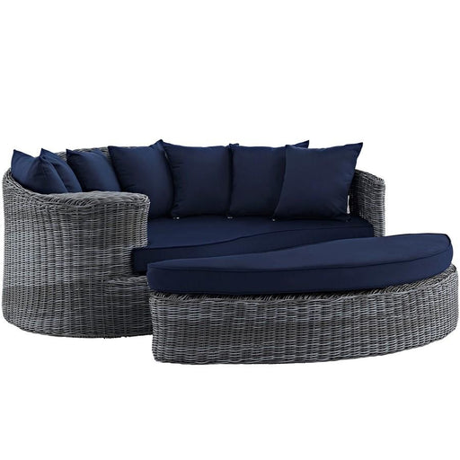Modway Summon Outdoor Patio Sunbrella Daybed