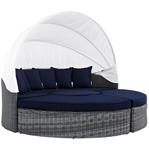 Modway Summon Canopy Outdoor Sunbrella Daybed
