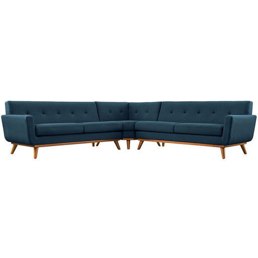 Modway Furniture Engage L-Shaped Sectional Sofa