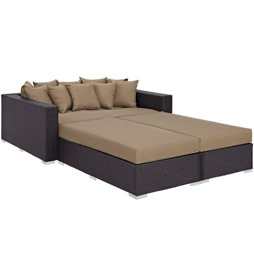 Modway Convene 4 Piece Outdoor Patio Daybed Set