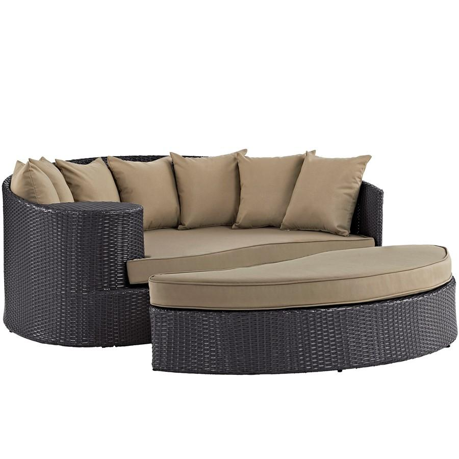 Modway Furniture Convene Outdoor Patio Daybed