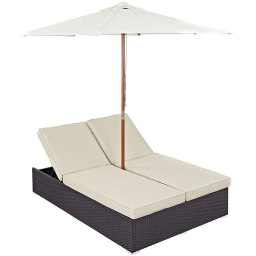 Modway Convene Double Outdoor Chaise