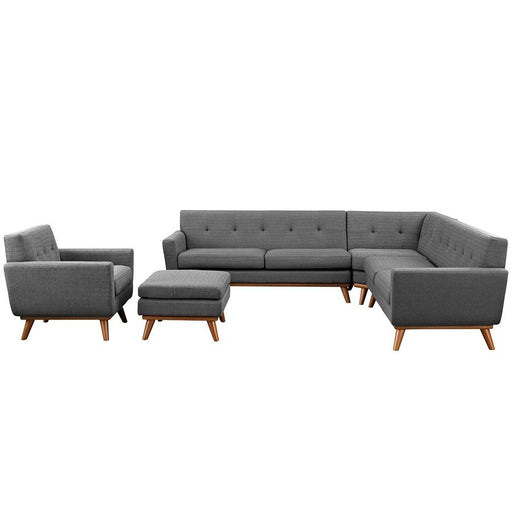 Modway Furniture Engage 5 Pc Sectional Sofa