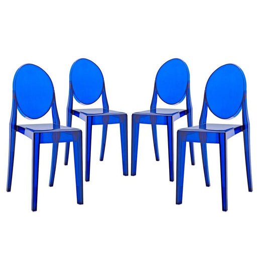 Modway Furniture Casper Dining Chairs Set of 4