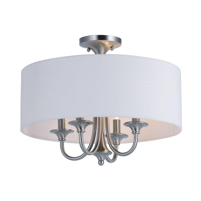 Maxim Lighting Bongo 4 Light Semi Flush, Bronze
