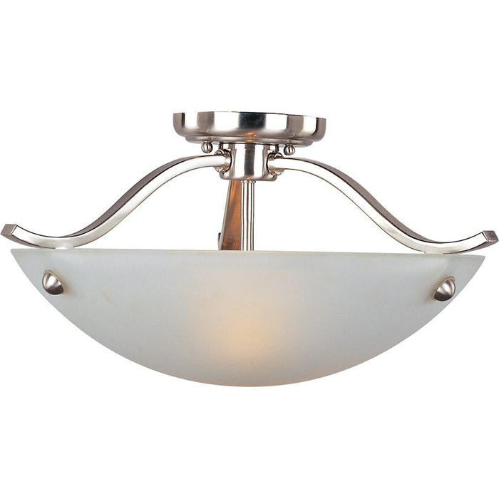 Maxim Contour 2-Light Semi-Flush Mount