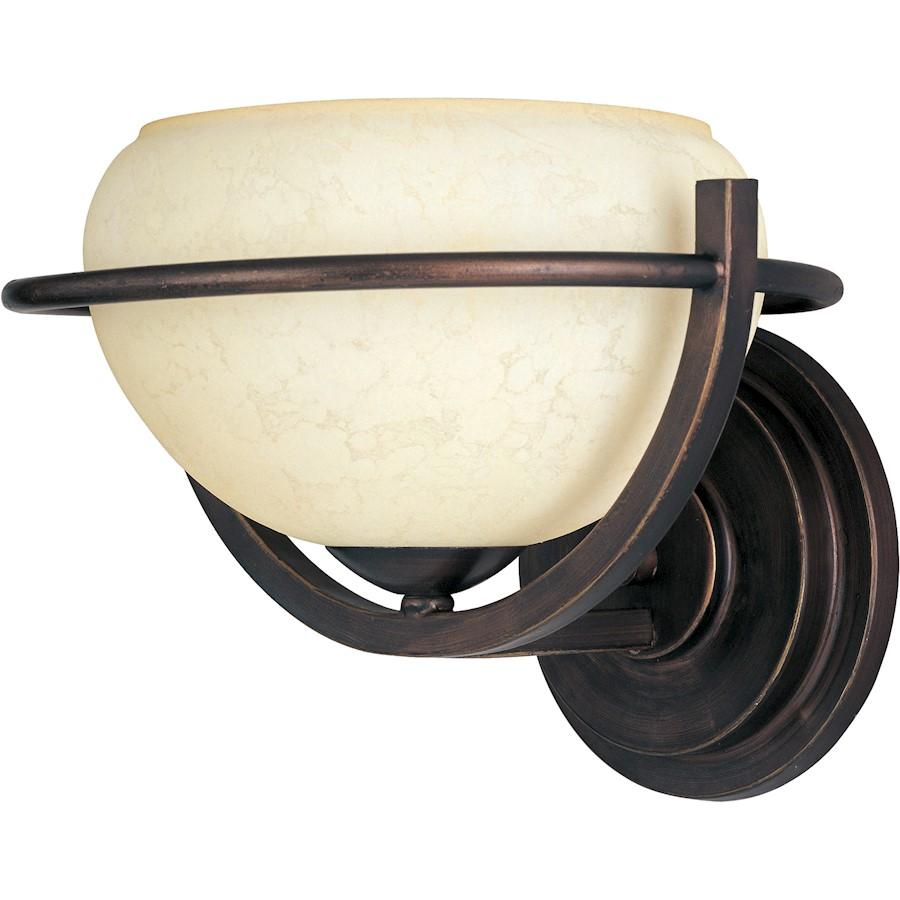 Maxim Cupola 1-Light Wall Sconce Oil Rubbed Bronze