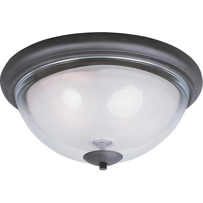 Maxim Lighting Bayview 2-Light Flush Mount, Bronze