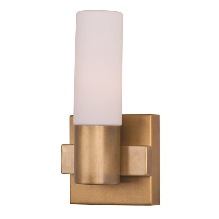 Maxim Lighting Contessa Wall Sconce, Natural Aged Brass