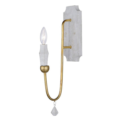 "Maxim Lighting 18"" x 4.75"" Claymore 1 Lt Wall Sconce, Claystone"