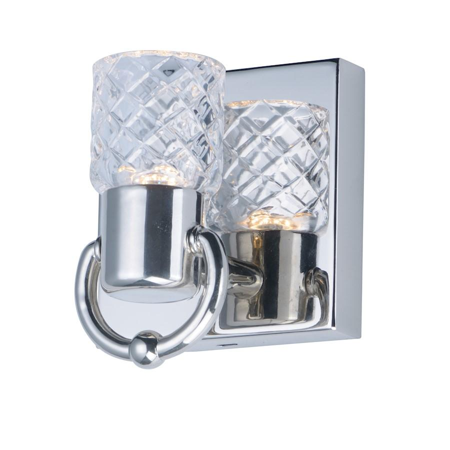 Maxim Lighting Crystol LED Wall Sconce Nickel