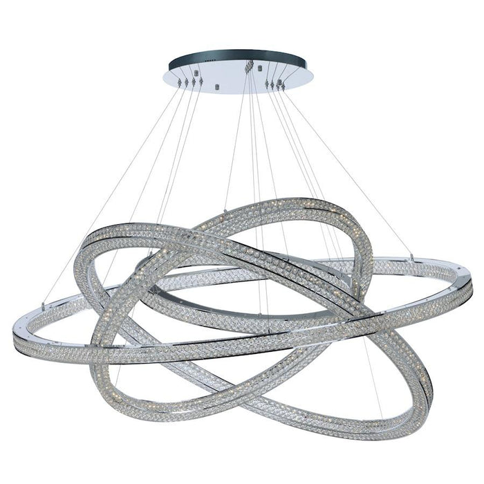 "Maxim Lighting 60"" Eternity LED Pendant, Polished Chrome"