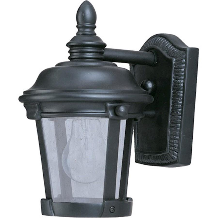 Maxim Dover VX 1-Light Outdoor Wall Lantern, Bronze