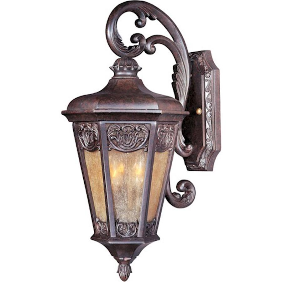 Maxim Lexington VX Outdoor Wall Lantern, Umber