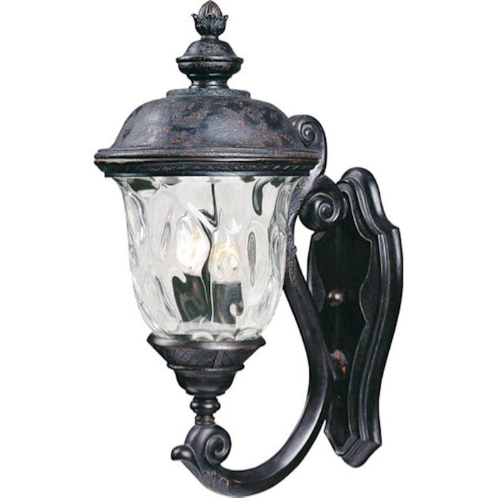 Maxim Carriage House VX 2-Light Outdoor Wall Lantern, Bronze