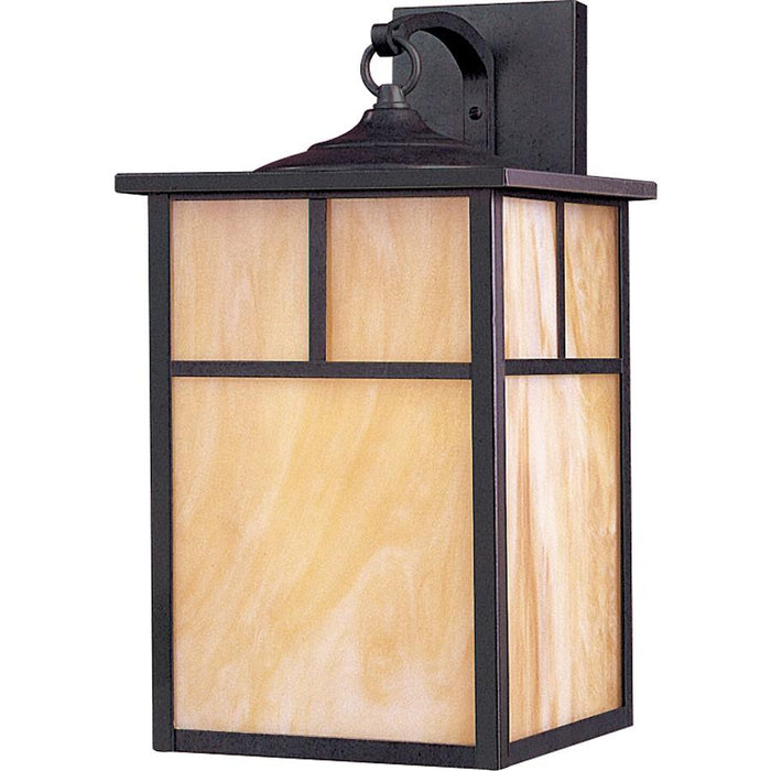 Maxim Coldwater 1-Light Outdoor Wall Lantern, Burnished