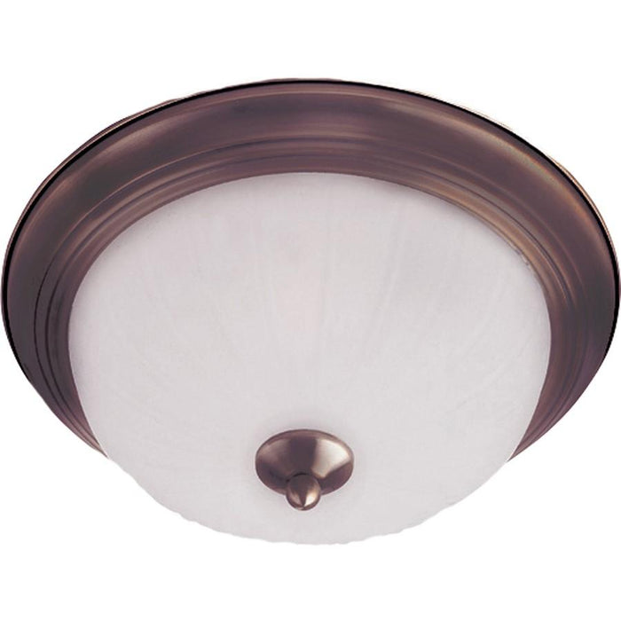 Maxim Lighting Flush Mount, Frosted Glass