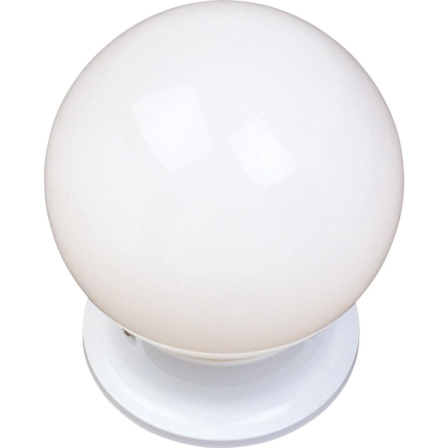 Maxim Lighting 1-Light Flush Mount, White