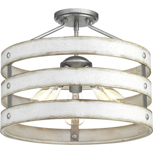Progress Lighting Gulliver Semi-Flush Convertible
