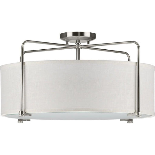 Progress Lighting Kempsey 3-Light Semi-Flush Convertible