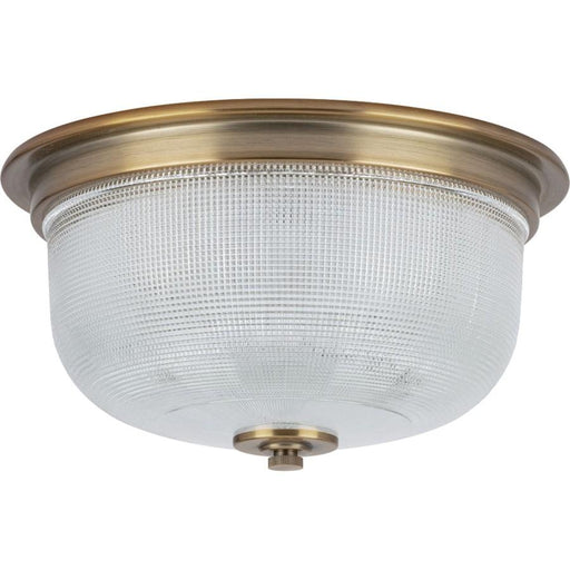 "Progress Lighting Archie 2-Light 12-3/8"" Close-to-Ceiling, Brass"