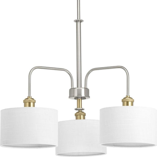 Progress Lighting Cordin Chandelier, Brushed Nickel