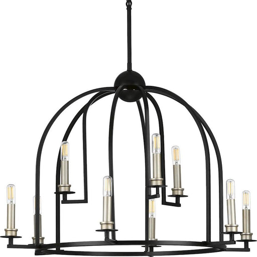 Progress Lighting Seneca Nine-Light Chandelier