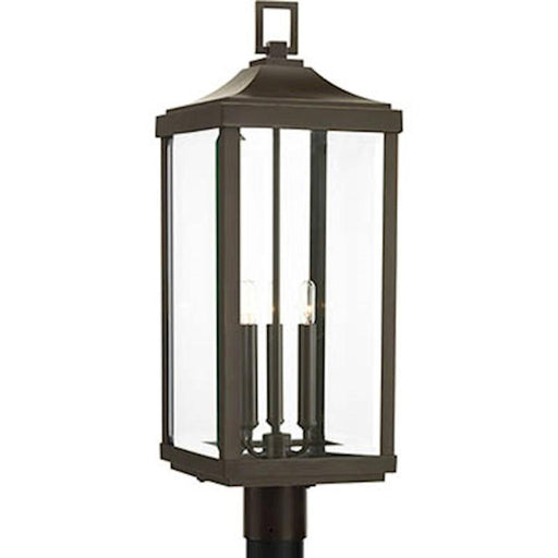 Progress Gibbes Street 3 Light Outdoor Post Lantern, Bronze