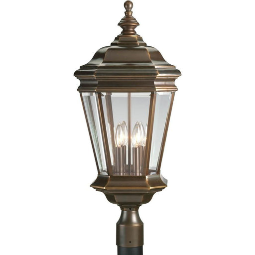 Progress Lighting Crawford Four-Light Post Lantern