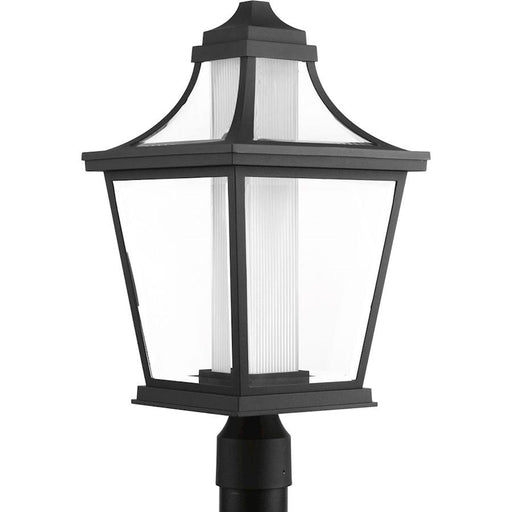 Progress Lighting Endorse 1-Light LED Post Lantern, Black