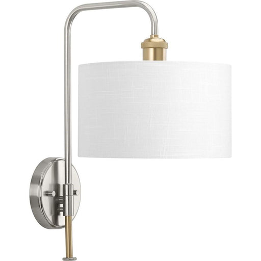 Progress Lighting Cordin Sconce, Brushed Nickel