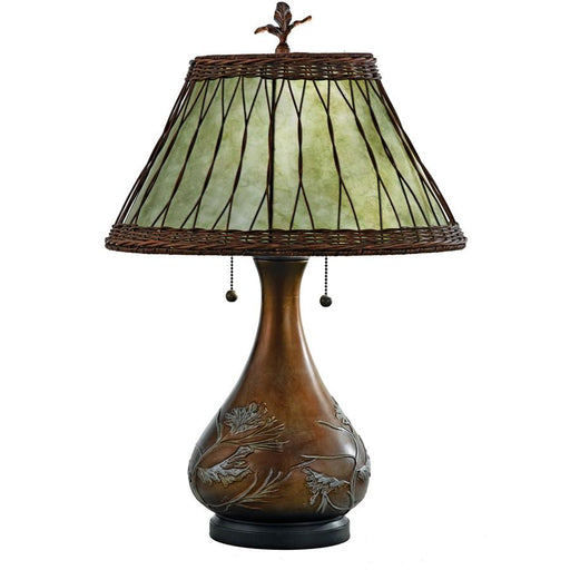 Quoizel 2 Light Highland Table Lamp