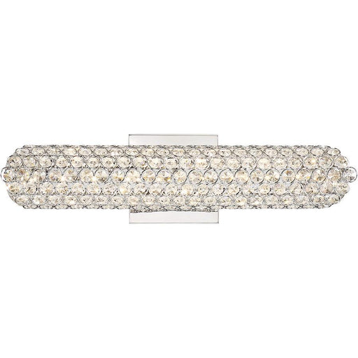Quoizel Platinum Infinity Bath Light, Polished Chrome