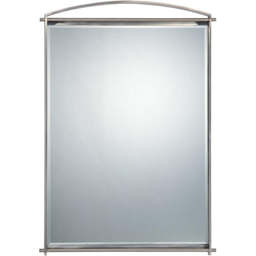 Quoizel Taylor Mirror, Antique Nickel