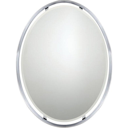 Quoizel Uptown Ritz Mirror, Polished Chrome