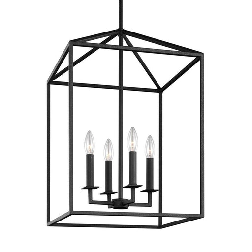Sea Gull Lighting Perryton 4 Light Hall/Foyer, Blacksmith
