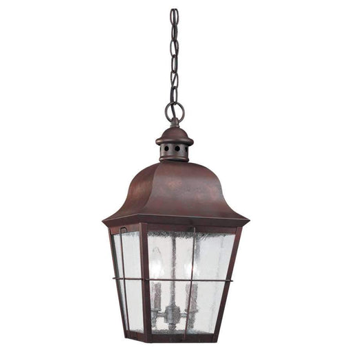 Sea Gull Lighting Two-Light Chatham Outdoor Pendant