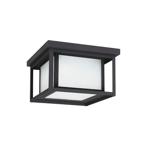 Sea Gull Lighting Hunnington 2 Lt Outdoor Ceiling Flush Mount