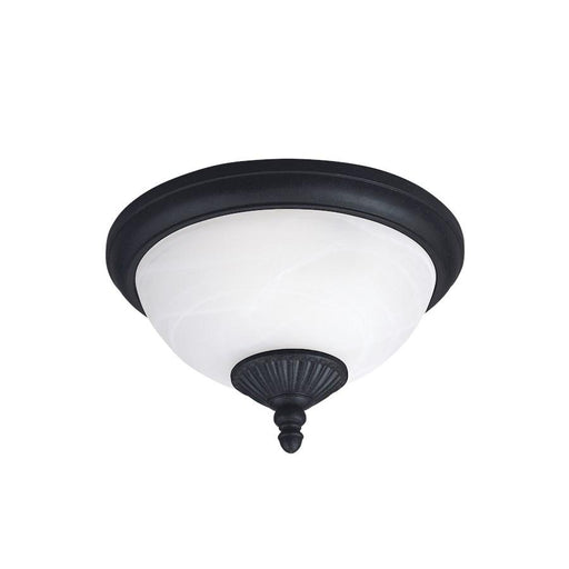 Sea Gull Lighting Yorktown 2-Light Outdoor Flush Mount