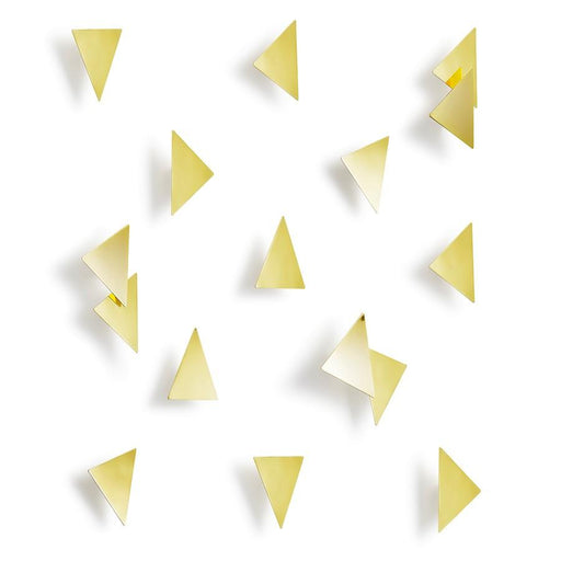 Umbra Confetti Triangles (16), Brass