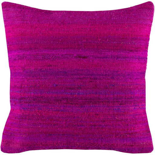 Palu by Surya Pillow, Bright Purple